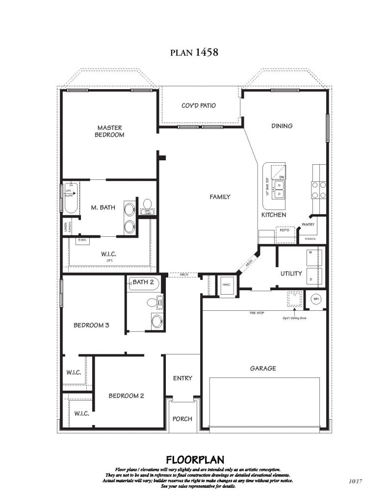 Creekside Hills - Alpine Floor Plan