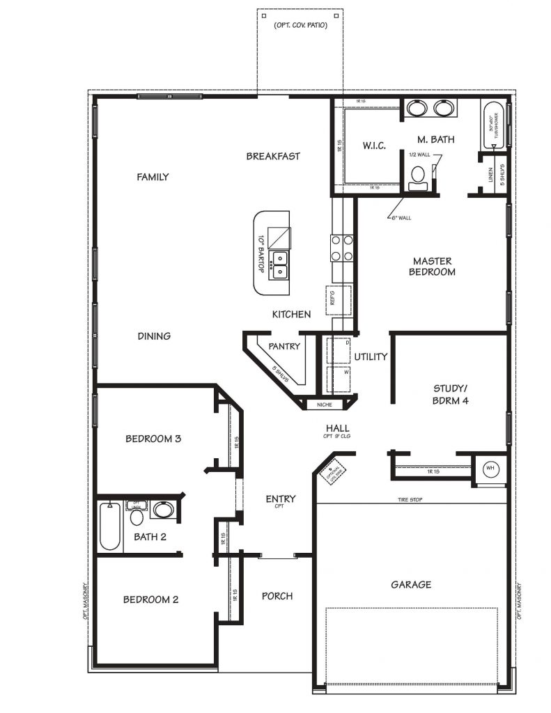 Creekside Hills - Ashford Floor Plan
