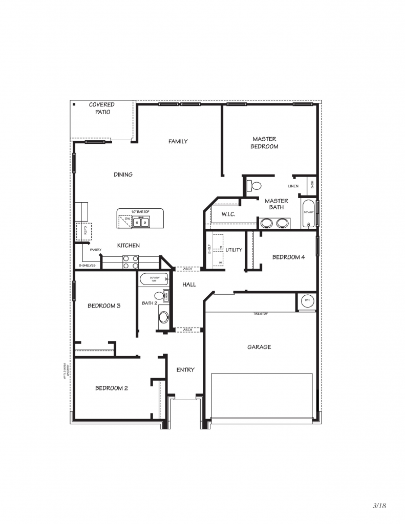 Creekside Hills - Dakota Floor Plan