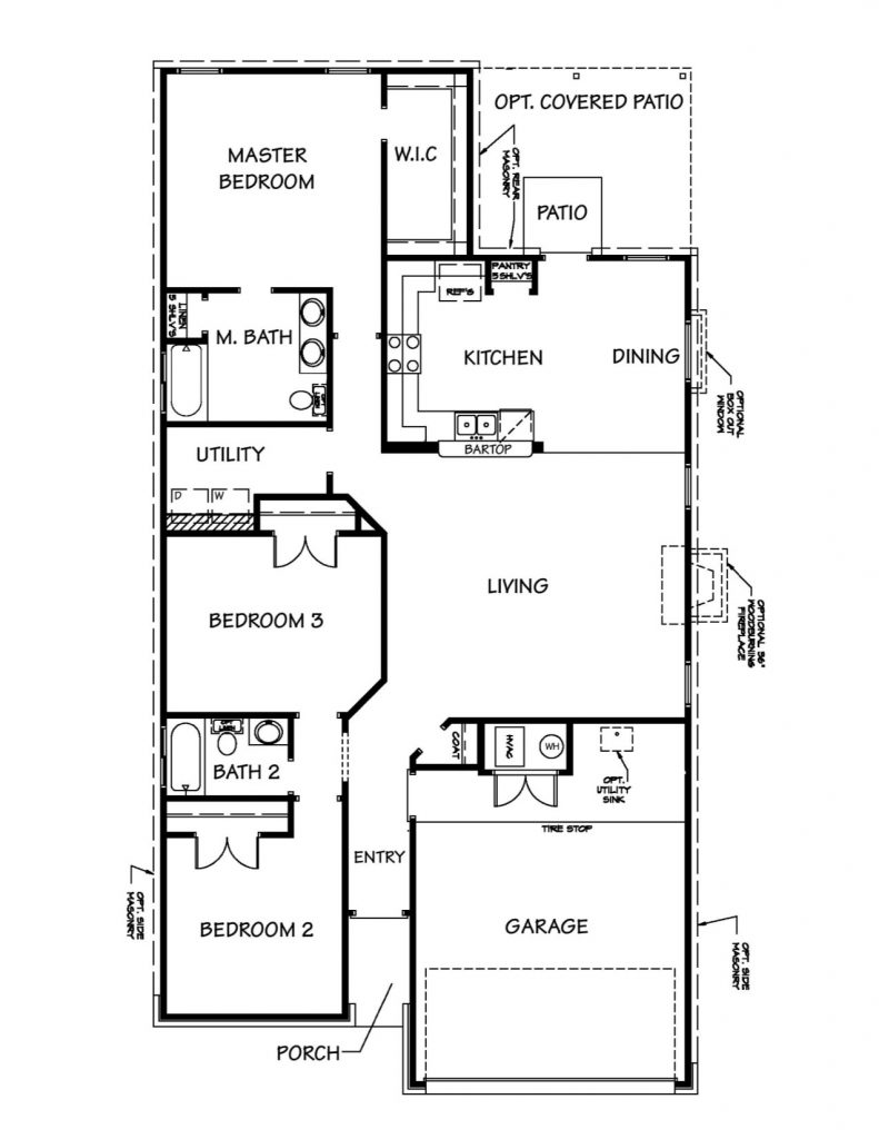 Creekside Hills - Roosevelt Floor Plan