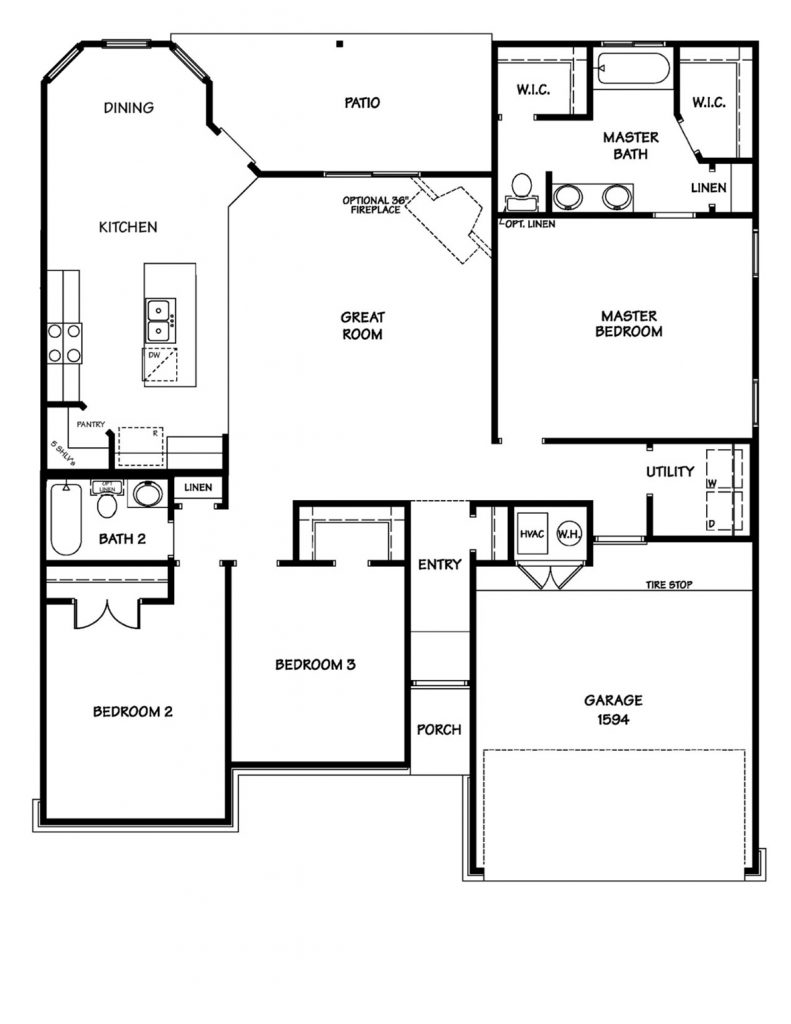 Creekside Hills - Willow Floor Plan