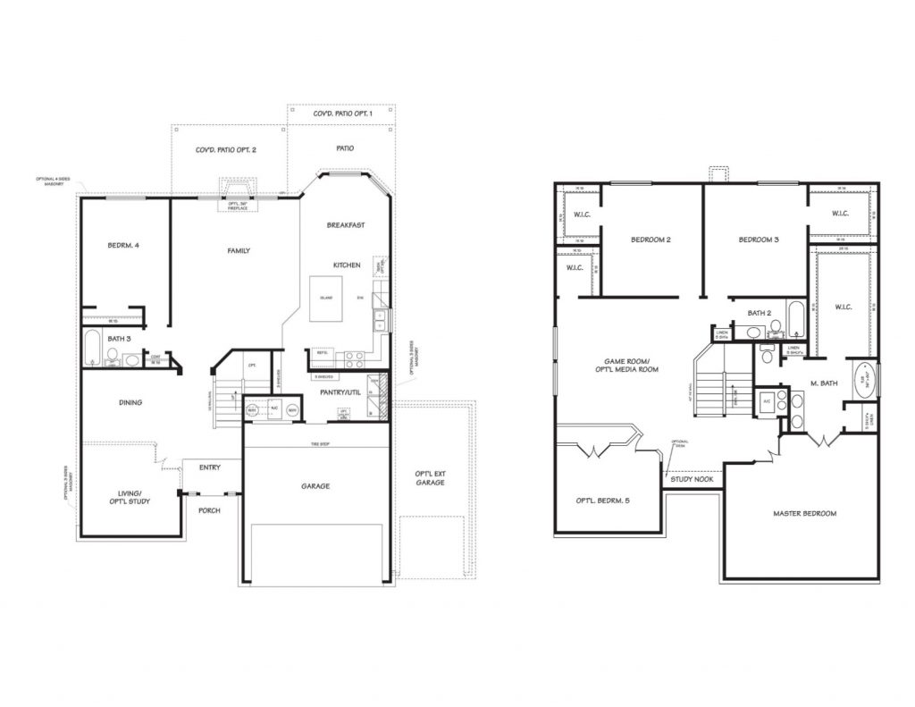 Creekside Hills Kiawa Floor Plan