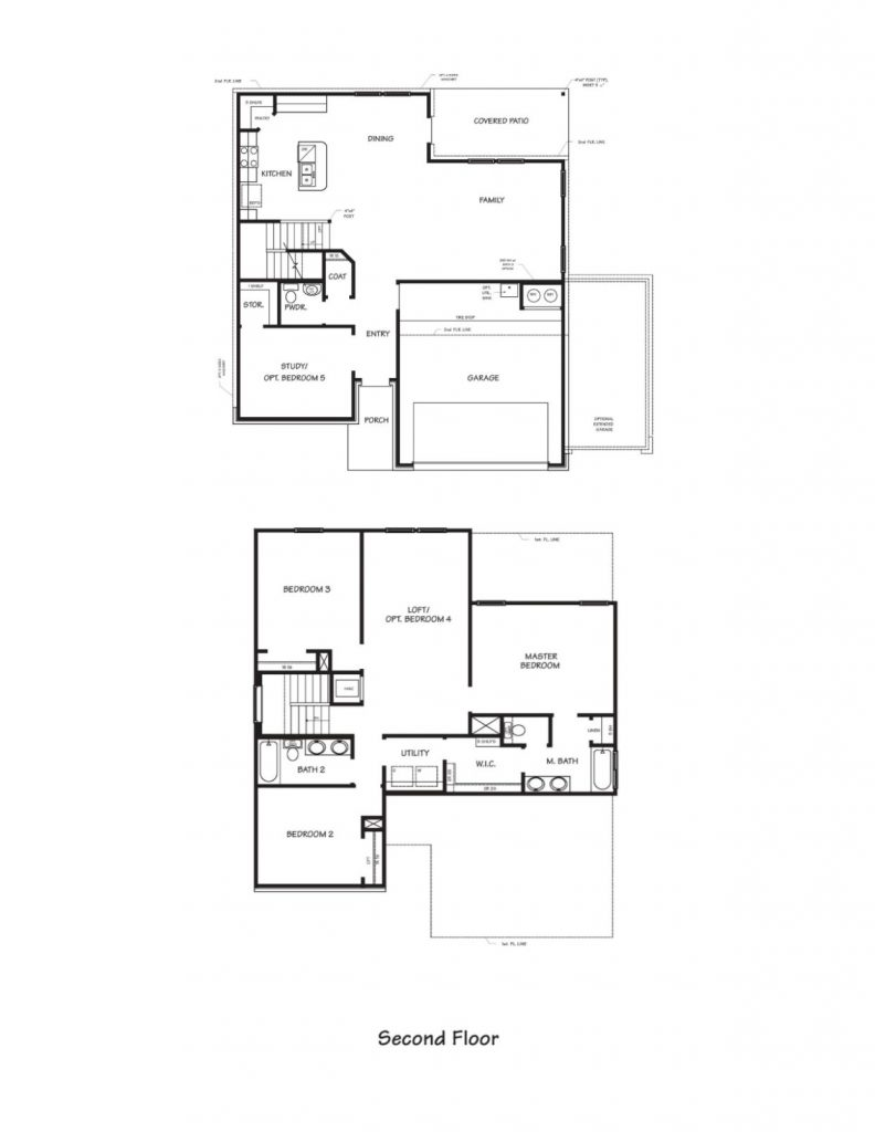 Creekside Hills Magnolia Floor Plan