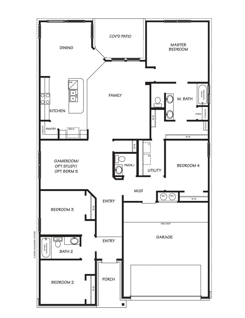 Creekside Hills Prescott Floor Plan