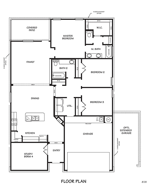 Creekside Hills Richmond Floor Plan