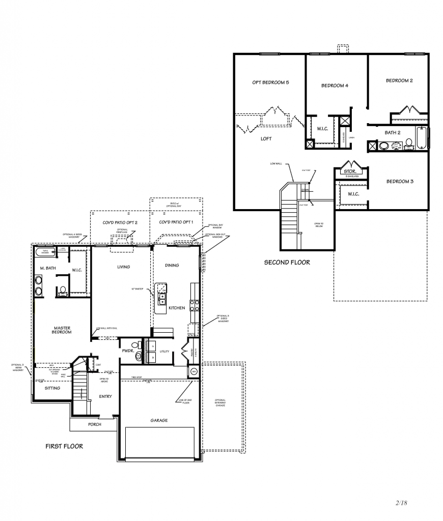 Creekside Hills Sonoma Floor Plan